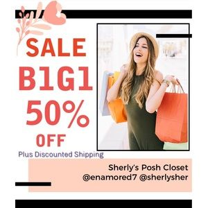 B1G1 50% Off + Discounted Shipping!